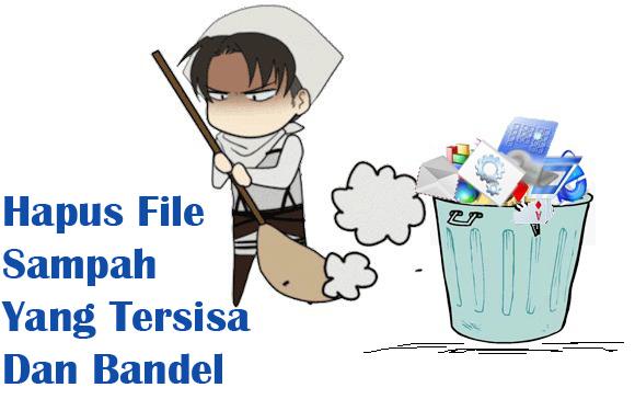 Hapus File Sampah Yang Tersisa Dan Bandel