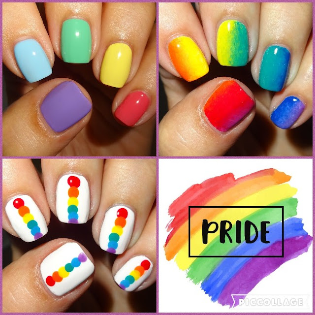 Wendy S Delights Rainbow Nails For Gay Pride