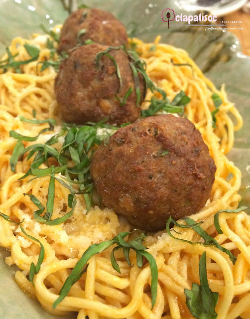 Spaghetti Meatballs from Earth Kitchen BGC