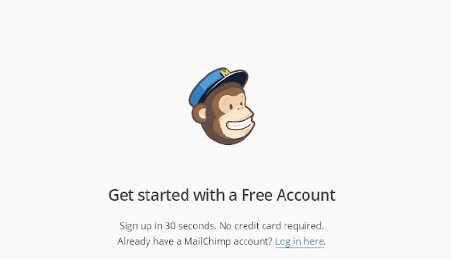 Tạo một tài khoản miễn phí trên MailChimp