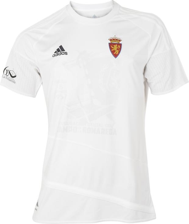 25055011f Adidas lança camisa comemorativa para o Real Zaragoza - Show de Camisas