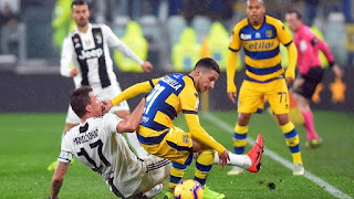Dua Gol Ronaldo Gagal Bawa Juventus Menang atas Parma