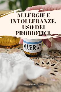 probiotici allergie intolleranze