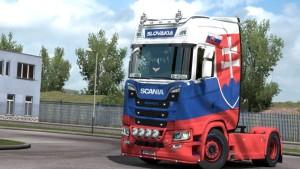 Scania 2016 Slovakia Edition Skin