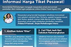 Hindari Penyesatan Informasi, Dirjen Perhubungan Udara Imbau Masyarakat Hati-Hati Beli Tiket Pesawat 'Online'