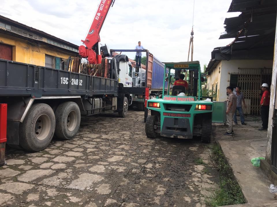 Dịch vụ cho thuê xe nâng tại Vĩnh Phúc giá rẻ nhất