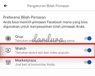 cara menampilkan watch di facebook