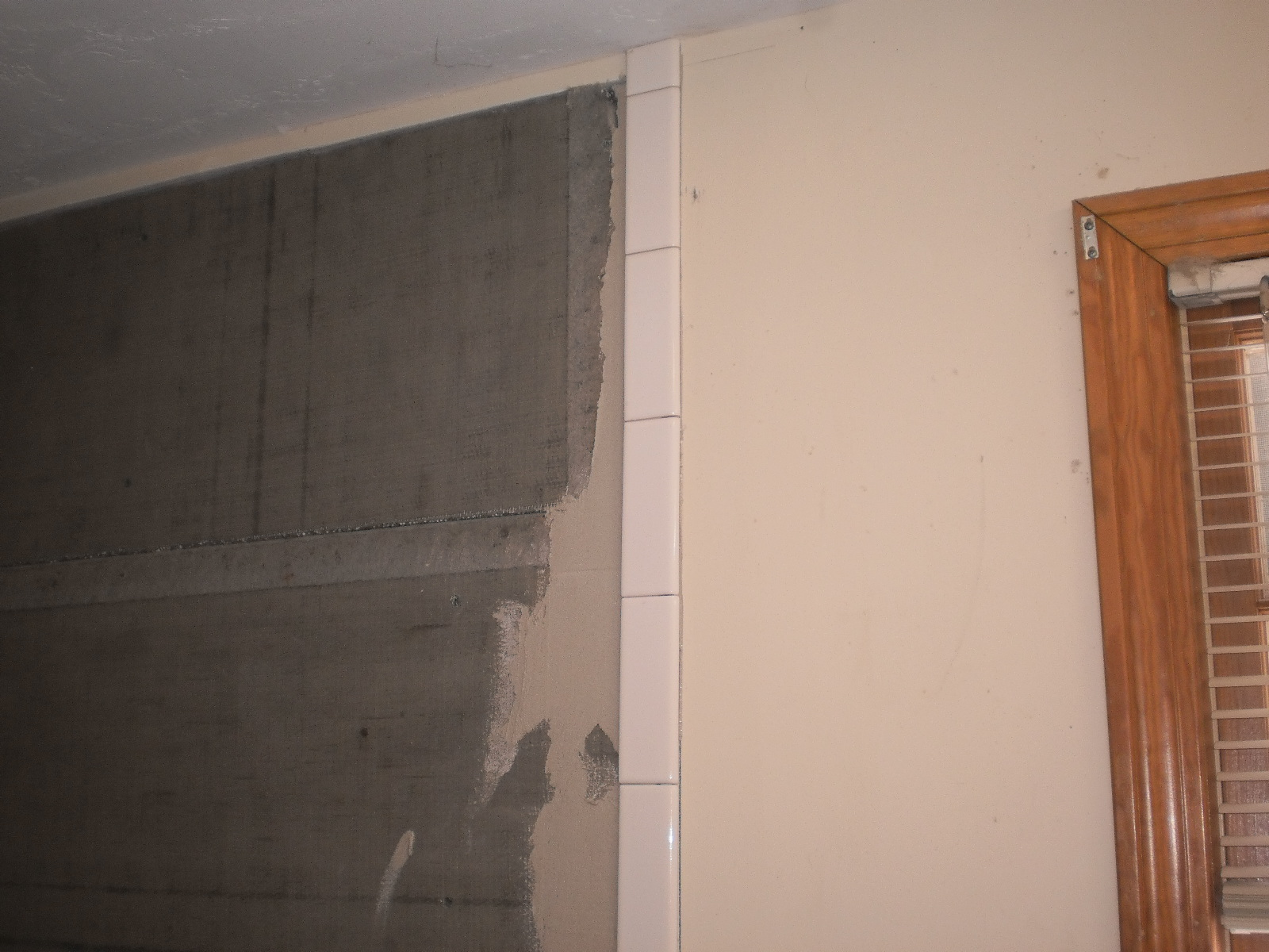 The simplest tile pattern shower for the tile do-it yourselfer part 1