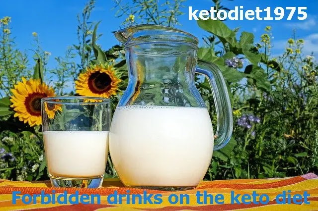 Forbidden drinks on the keto diet