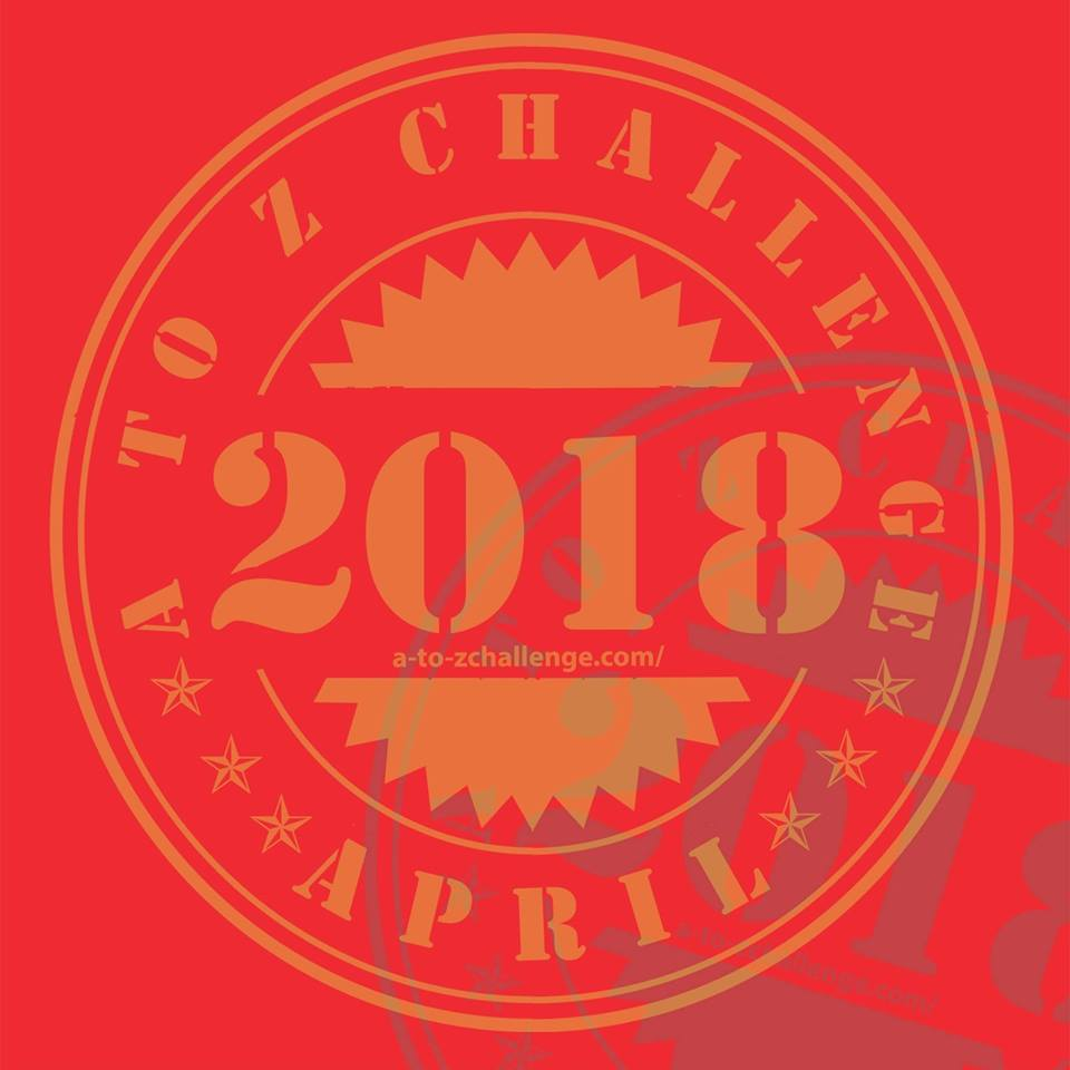 2018 A to Z blogging challenge