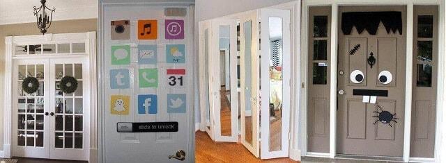 Kapı dekorasyon fikirleri 2