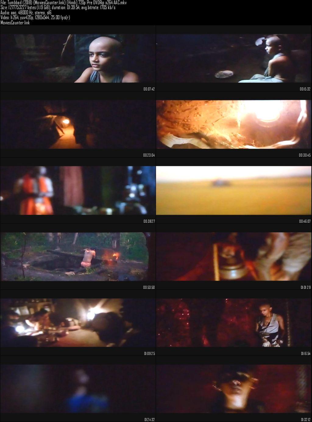 Screen Tumbbad 2018 Hindi Dubbed HD 720p