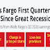 Wells Fargo First Quarterly Loss Since Great Recession #infographic