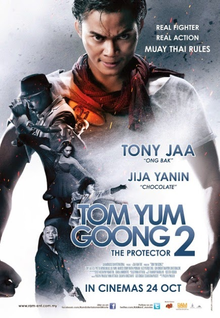 """""""Tom Yum Goong 2 -The Protector 2- (2013)"""" movie review by Glen Tripollo"""