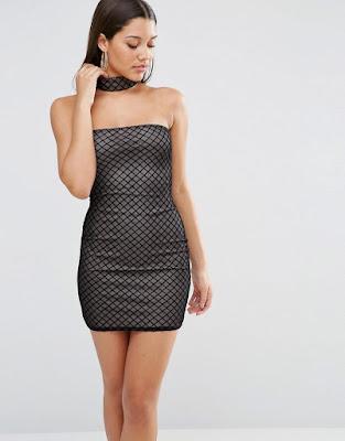 vestidos cortos a lunares