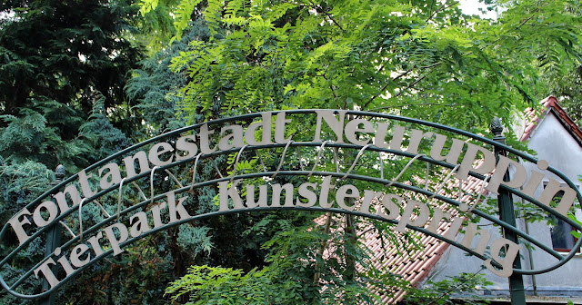 Tierpark Kunsterspring bei Neuruppin