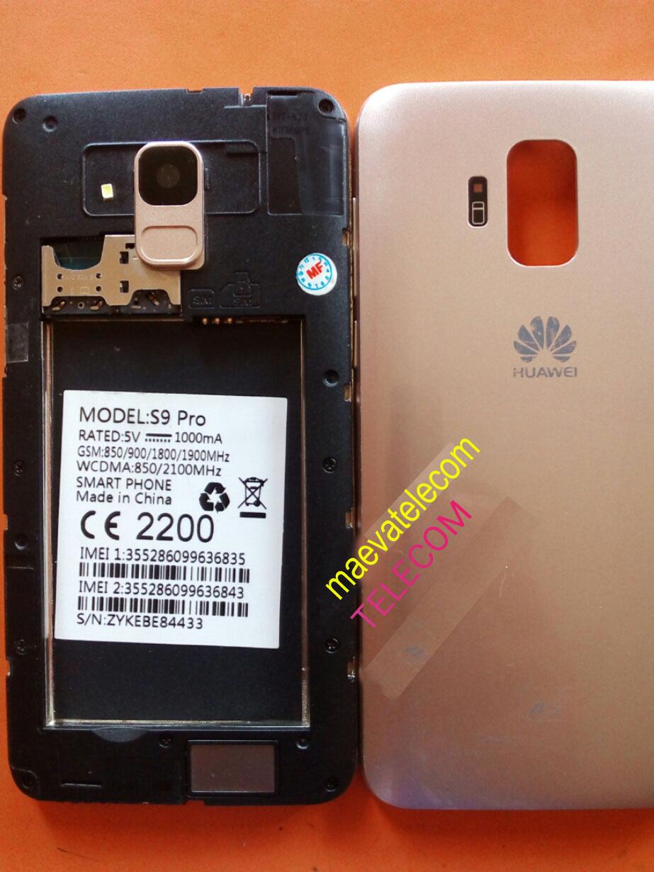 maevatelecom: HUAWEI S9 PRO FLASH FILE MT6580 maevatelecom