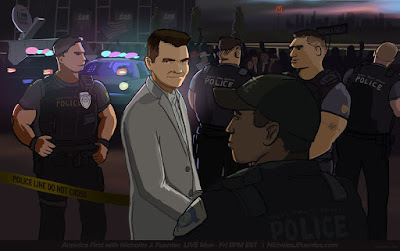 Nick J Fuentes Police - Chris Emerson