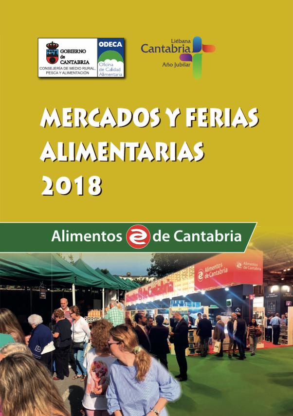 Calendario de Ferias y Mercados Alimentarios 2018