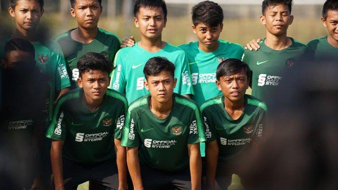 Daftar Pemain Timnas Indonesia U-15