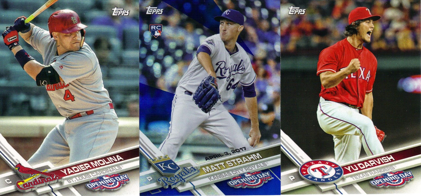 Nothing If Not Random 2017 Topps Opening Day Baseball Cards