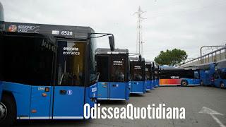 La presentazione dei nuovi bus Cotral del 16 dicembre