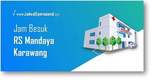Jam Besuk RS Mandaya Karawang