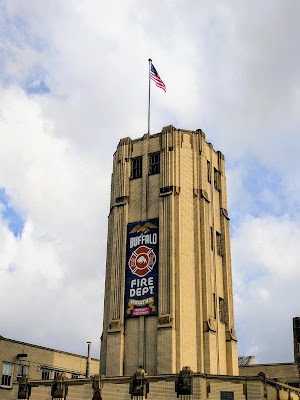 Buffalo architecture walk: Buffalo's Art Deco Fire Department