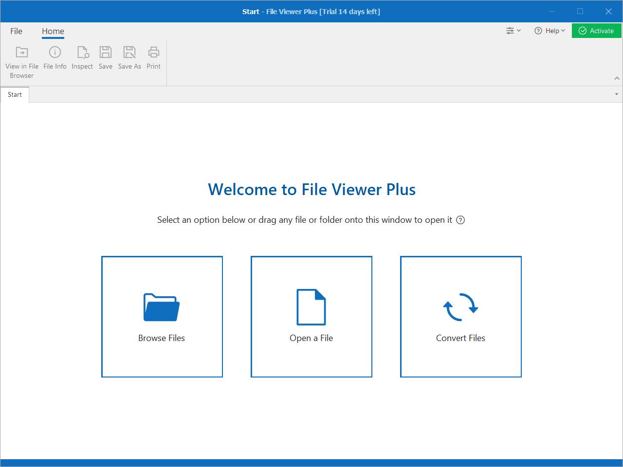 File Viewer Plus Main Interface Screenshot