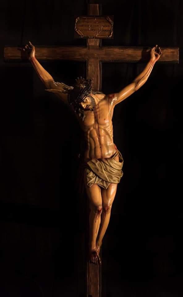 La hermandad del Huerto de Ronda presenta y bendice su Cristo de la Fe