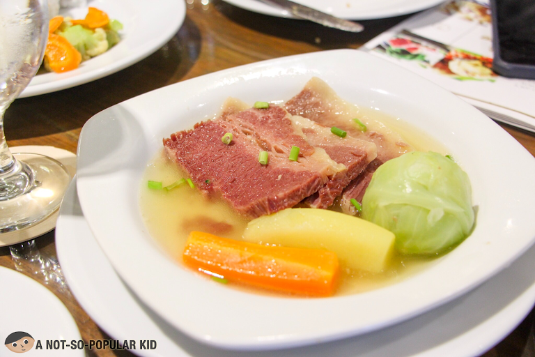 Boiled Corned Beef of The Plaza, Pop-up restaurant
