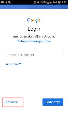 Buat Akun di Gmail