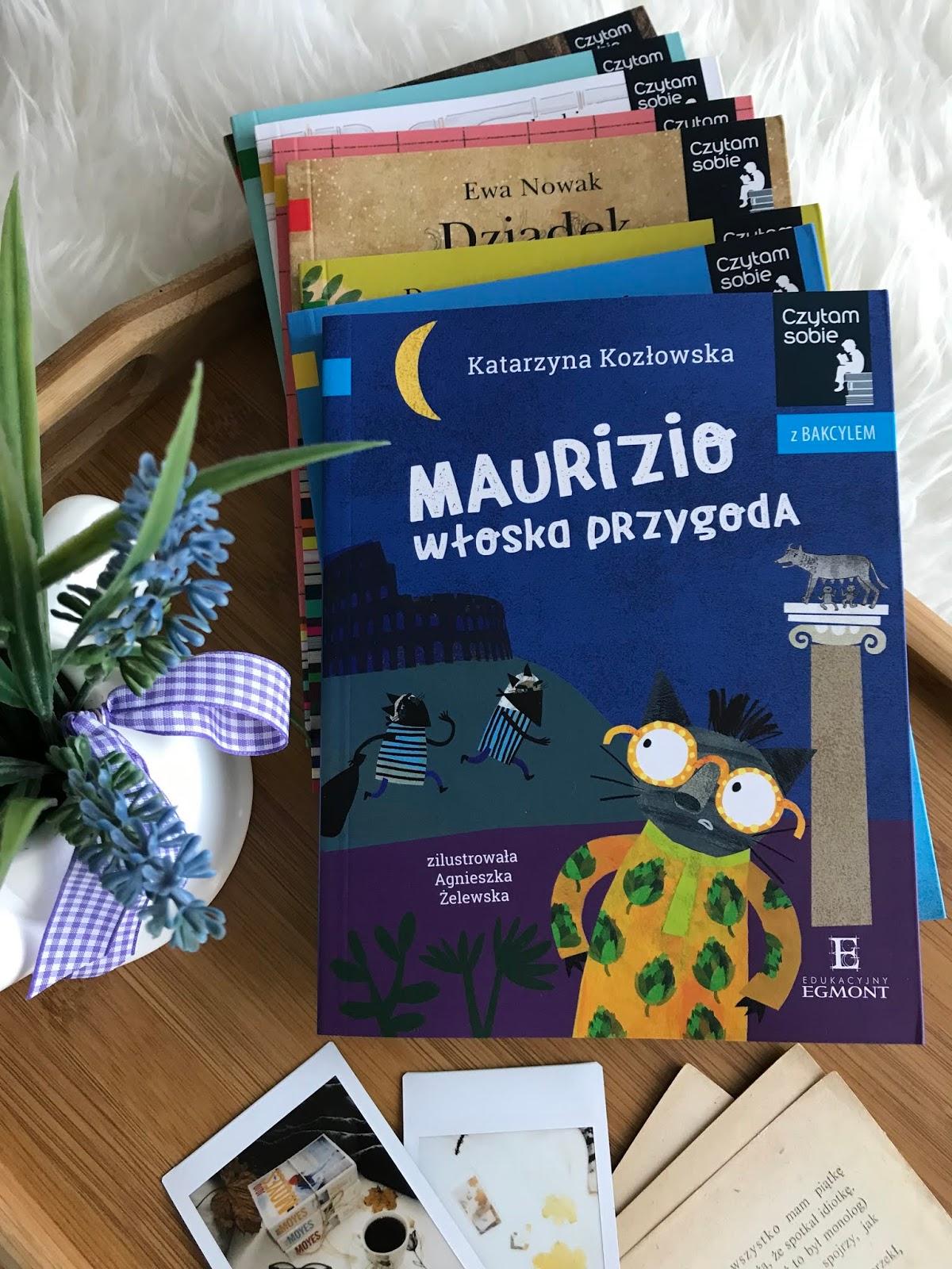 Seria Czytam sobie z bakcylem. Katarzyna Kozłowska, Maurizio. Włoska przygoda