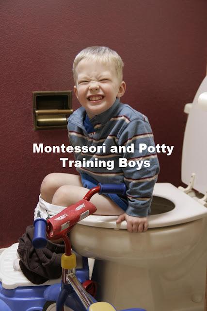 Montessori and Potty Training Boys