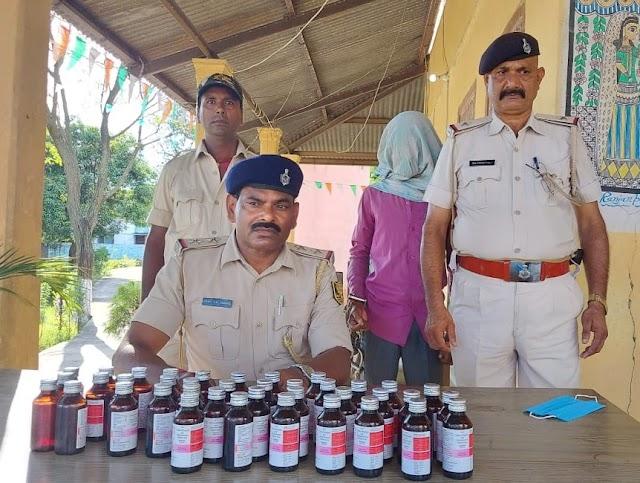 हरलाखी के पिपरौन में चल रहा था अवैध दवा बिक्री का खेल, पुलिस ने किया रेड, एक गिरफ्तार