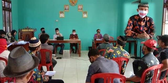 Desa Bandar Agung Gelar Musyawarah Pendataan Warga Penerima BLT Dana Desa 2020