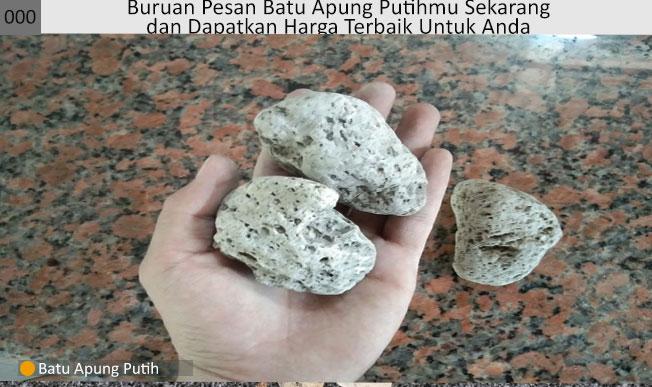 batu apung untuk kosmetik