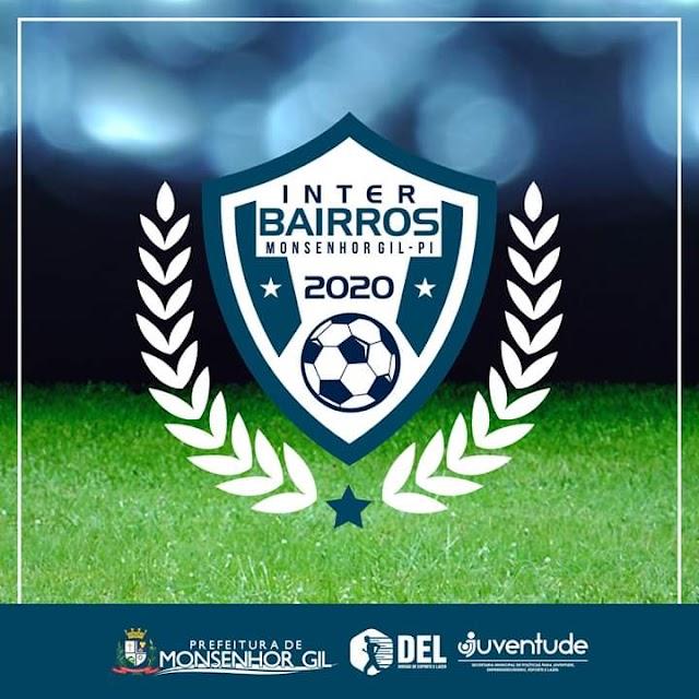 Monsenhor Gil: largada do campeonato Interbairros acontece nesse final de semana