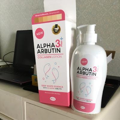 Alpha Arbutin 3 Plus Collagen Whitening Lotion