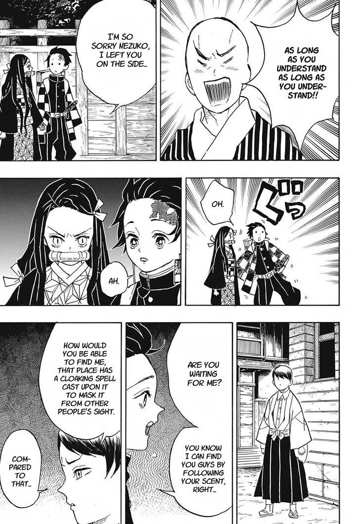 DEMON SLAYER: KIMETSU NO YAIBA CHAPTER 15 161