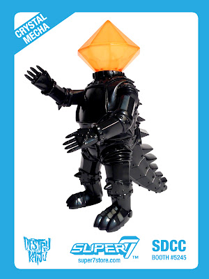 "San Diego Comic-Con 2013 Exclusive ""First Strike"" Crystal-Mecha by Super7"
