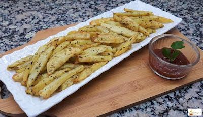 بطاطس مشوية في الفرن صحية و لذيذة جدا