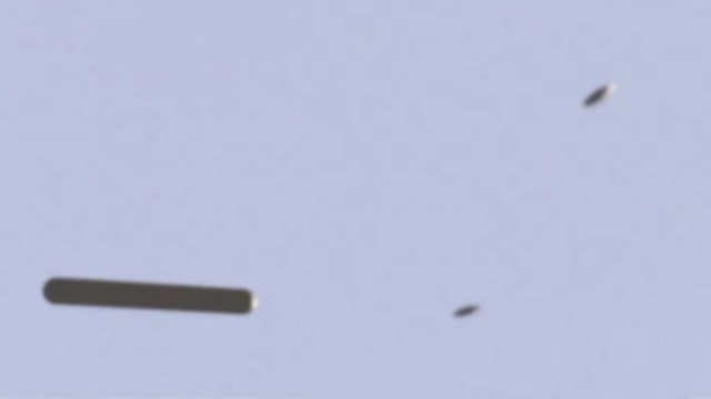 UFO Mothership over South Africa picking up 2 UFOs.