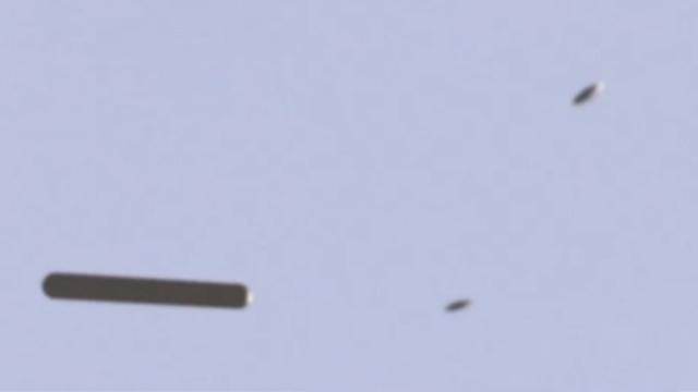 UFO Mothership Picks Up 2 UFOs Over Johannesburg 👽🛸🛸👽