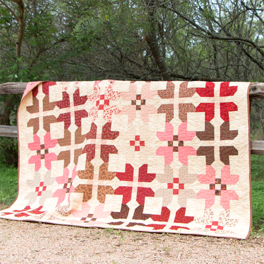 Fat Eighth Fruitcake Quilt designed by Kimberly of Fat Quarter Shop