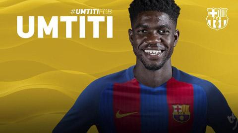 Tân binh Samuel Umtiti