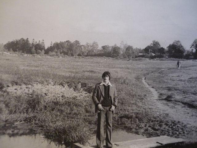 1980 год. Рига. Потом на этом поле построят дома Золитуде