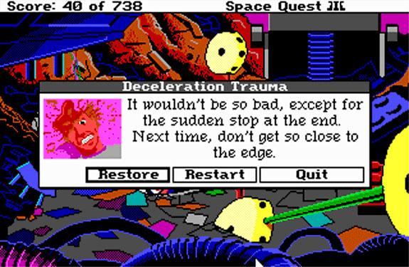 Space Quest III Muerte
