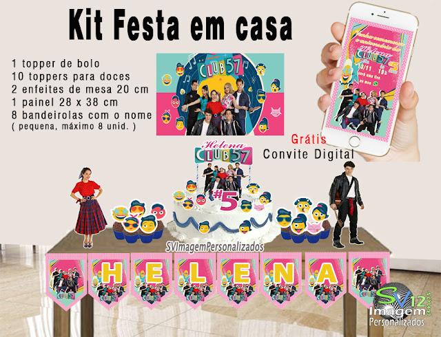 Club 57 festa anos 60 dicas e ideias para decoração de festa personalizados kit festa em casa