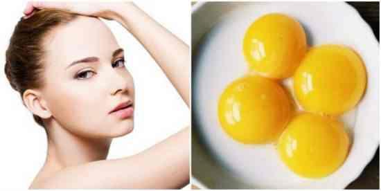 Làm trắng da với lòng đỏ trứng gà